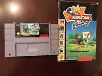 Super Nintendo ACME Animation Station Game
