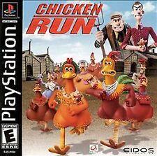 Chicken Run (Sony PlayStation 1, 2000) CD Only