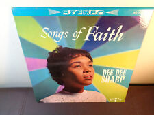 DEE DEE SHARP CAMEO 1962 R&B SOUL GOSPEL LP - Songs Of Faith ~ RARE STEREO