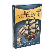 HMS Victory Wooden Sailing Boat Model DIY Kit Ship Assembly Decoration