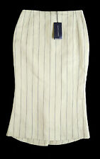 RALPH LAUREN BLUE LABEL PINSTRIPED PENCIL SKIRT *SIZE 0/UK 6* BNWT *RRP £385*