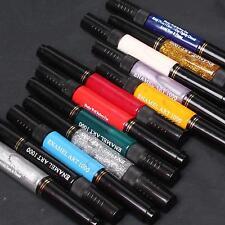 12 Color 3D Nail Art Two-way 2 Way Polish Brush Pen Draw Painting Tips Tools Set