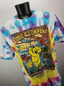 Grateful Dead & Company U.S. Tour Band Shirt DUAL SIDED Mens XL NWOT Tie Dye