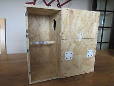 """COCKATIEL NEST BOX WITH PORCH/CRECHE FOR BREEDING 8""""X8""""X13"""" / 13.5""""X13""""X8"""""""