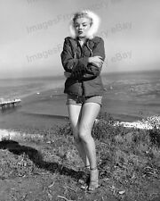8x10 Print Marilyn Monroe above Malibu California 1951 #MMMA