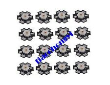 10pcs 1w Deep Red High Power 660nm Plant Grow Led Emitter With 20mm Star Base