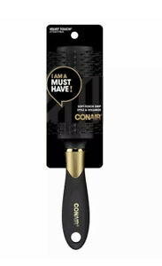 CONAIR VELVET TOUCH STYLE & VOLUMIZE BRUSH ~ SLEEK SOFT TOUCH DESIGN ~