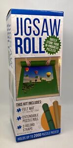 Felt Mat Jigsaw Roll - Holds up to 2000 Pieces by Hinkler