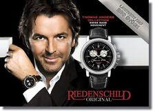 Thomas Anders Chronograph, Riedenschild, Limitiert Auf 299 Weltweit, Neu