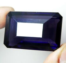 103.50 Cts Natural Beautiful Purple Amethyst Emerald Cut Loose Gemstone