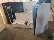 Sony PS5 Consola De Edición Digital-Blanco