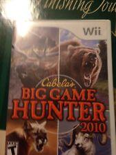 Nintendo Wii : Cabelas Big Game Hunter 2010 VideoGames