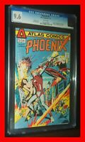 PHOENIX #1 1974 Atlas-Seaboard Comics CGC 9.6 NM+ White Pages