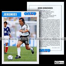 JEREMIES JENS (FC BAYERN MUNICH) - Fiche Football / Fussball 1998