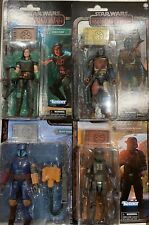 Star Wars Black Series Mandalorian Credit Collection 6 inch Set of  4! FREE SHIP