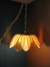 Vintage Beautiful Hanging Swag Art Deco Lamp