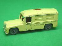 Matchbox Lesney No.14b Daimler Ambulance (CREAM)