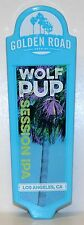 "GROWING ROAD BREWING - WOLF PUP - SESSION IPA -  8 1/4""  DRAFT BEER TAP HANDLE"