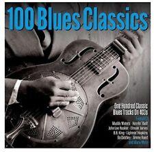 100 BLUES CLASSICS (B.B.KING, MUDDY WATERS, JIMMY REED, ...) 4 CD NEUF
