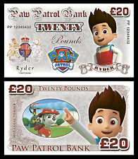 Paw Patrol Novelty Banknotes / Party Bag Fillers