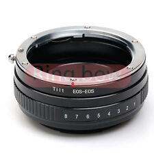 Macro Tilt Canon EOS EF Lens to EOS EF Mount Lens Adapter 650D 70D 600D 7D 550D