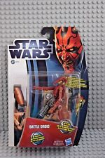 Hasbro Star Wars 37751 Battle Droid Movie Heroes mh04 nuevo con embalaje original (DM)