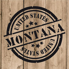 Vinilo de Corte Montana Pegatina Montana USA United States 10 cm Adhesivo Pared