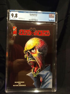 DEADWORLD 1 CGC  9.8 NM/M   White Pages NEW CASE   Vincent Locke cover & art