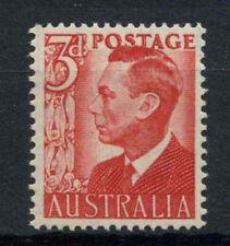 Australia 1950-1952 SG#235, 3d Scarlet KGVI MNH #A76257