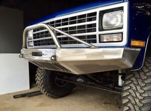 Chevy K5 Blazer 1981-1991 Front Winch Bumper *BRUSH GUARD INCLUDED* USA
