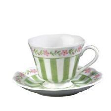 Andrea by Sadek Porcelain Tea Cup & Saucer Set SOPHIE GREEN