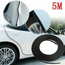 5M Car Universal Anti Collision Door Side Edge Rubber Bumper Protection Strips D