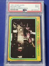 1980 Star Wars Empire Strikes Back - #317 Aboard the Executor Psa 9