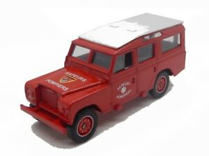 Land Rover Pompiers SOLIDO