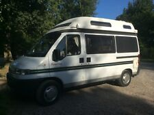 Autosleeper Symphony Peugeot Boxer Campervan Rare 4 Berth Loo/Wetroom