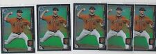 (5) TYLER BEEDE 2015 Bowman Chrome Draft Black Asia Refractor RC Lot Of 5