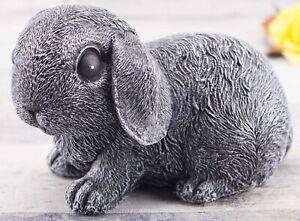 Steinfigur Hase Kaninchen 200/1, Gartenfigur Gartendeko Geschenk Figur Tierfigur