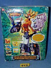 Power Rangers Wild Force DELUXE  Megazord MINT IN BOX