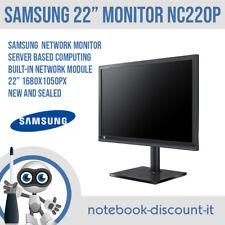 "Samsung NC220P 22"" Network LED Monitor 1680x1050px Server Base Computing NEW"