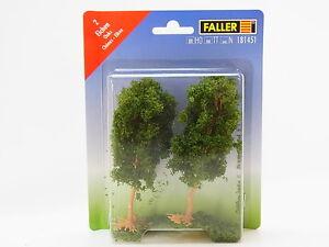 """Lot 31241 Faller Ho Tt N 181451 2 Oaks """" Approx. 110 MM Trees New IN Boxed"""