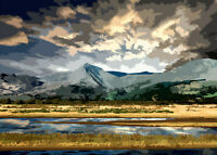 Snowdonia Wales Limited Art Print By Sarah Jane Holt Large Version