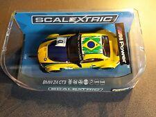 1/32 Scalextric C3721  BMW Z4 GT3  ' Team Brasil '   #0  NEU OVP