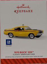 2014 HALLMARK -1970 BUICK GSX -24TH IN CLASSIC AMERICAN CARS SERIES- MINT IN BOX