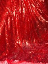 Paillettes Brodé 3 mm sur tulle//net Tissu 132cms pour décoration craft /& Robe