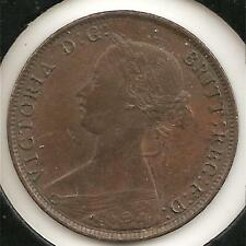 1861 ABOUT UNCIRCULATED New Brunswick Large Cent  #2