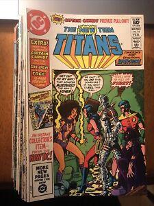 Lot Of 35 New Teen Titans DC Comics 1981-1984 - Tales Of The Teen Titans