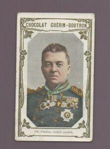 Kitschbild Schokolade Guérin Boutron 191 - Fischer, Admiral Anglais (K8408)