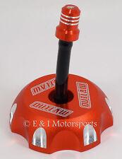 1994-2005 KTM 250 125 SX 250SX 125SX **ORANGE BILLET ALUMINUM GAS FUEL CAP**