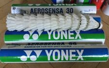 4 (48)x YONEX AEROSENSA 30 BADMINTON USED 1 FEATHER BROKEN ON EACH SHUTTLECOCK