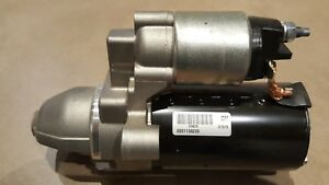 Starter Motor GENUINE BOSCH   MINI Clubman One D Cooper D Cooper Sd 2010-2014